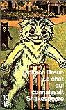 Le chat qui connaissait Shakespeare par Jackson Braun