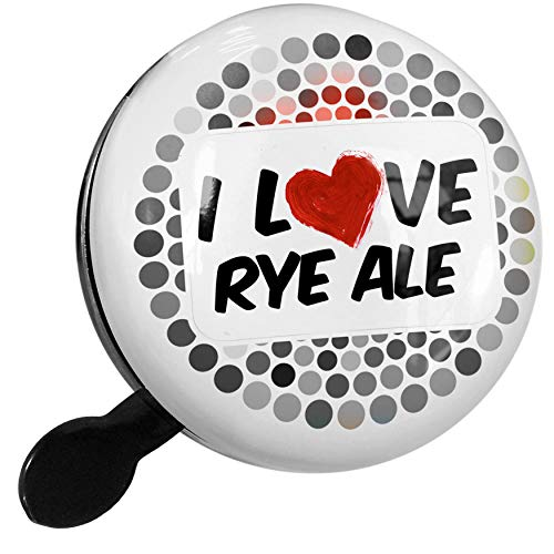 (NEONBLOND Bike Bell I Love Rye Ale Beer Scooter or Bicycle Horn)