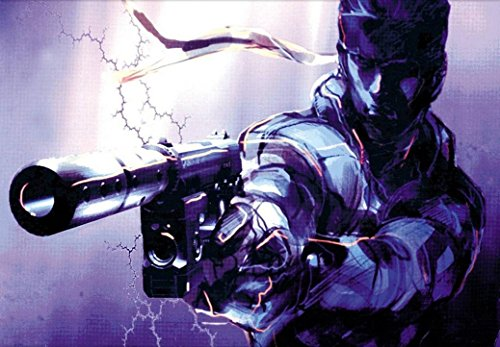 Metal gear solid 4 5 poster 36 inch x 24 inch / 20 inch x 13 inch