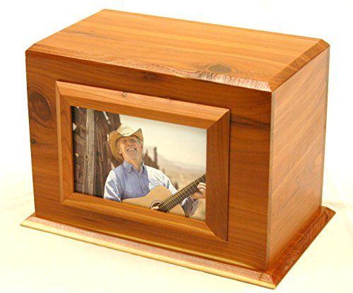 Small Human Urn with Photo Frame (Urn Chest)