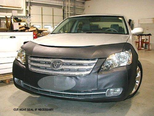 Lebra 2 piece Front End Cover Black - Car Mask Bra - Fits - TOYOTA,AVALON,2005 thru 2007