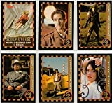 Rocketeer Super Glossy Movie Trading Cards Complete Set 1991