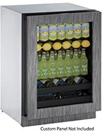 U-Line U3024BEVINT00B 24 Built-in Beverage Center, Integrated