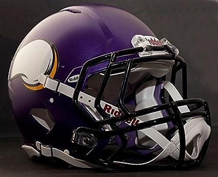 5cef651b Amazon.com : Riddell Speed Minnesota Vikings NFL Authentic Football ...