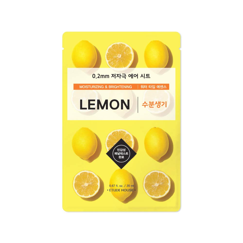 [Etude House] 0.2 Therapy Air Mask #05 Lemon