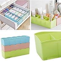 Socks Undergarments Storage Drawer Organiser, Storage socks Set of 4, (Colour May Vary)