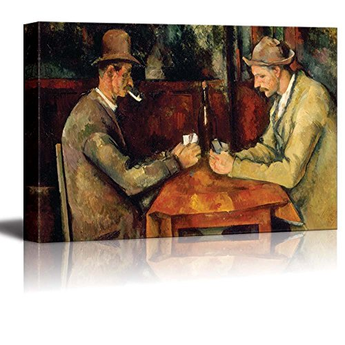 Card Players by Paul Cezanne Giclee ped Gallery