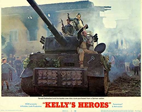 Kelly's Heroes POSTER (11