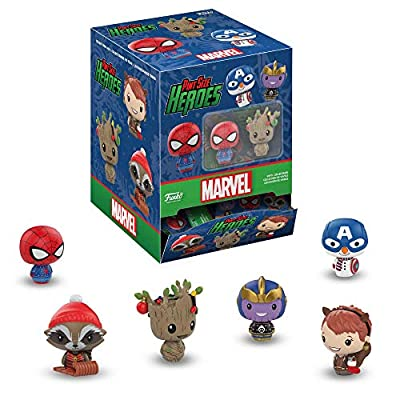 Funko Pint Size Hero: Marvel Holiday - One Mystery Collectible Figure, Multicolor: Toys & Games