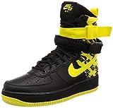 Nike Sf Af1 Mens Ar1955-001 Size, Black/Dynamic Yellow, 10.5 M US