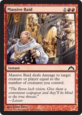 Magic: the Gathering - Massive Raid (100) - Gatecrash