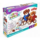 Addo – Out To Impress – Kit Créatif Fabrique ta Propre Peluche – 3 Ours