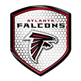 NFL Atlanta Falcons Team Shield Automobile Reflector