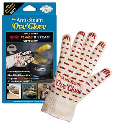 Ove' Glove Anti Steam Oven Glove Silicone by Joseph Enterprises Inc