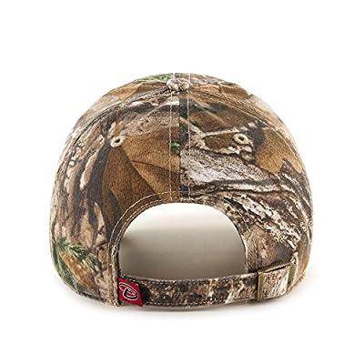 MLB Arizona Diamondbacks Clean Up Adjustable Hat, One Size, Realtree Camouflage