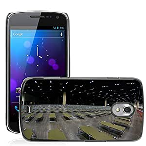 Hot Style Cell Phone PC Hard Case Cover // M00170283 Building Inside Interior Cots Many // Samsung Galaxy Nexus GT-i9250 i9250
