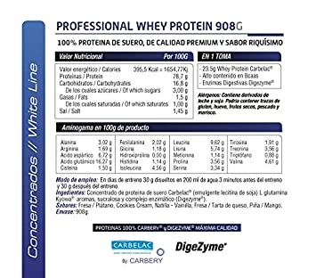 SCIENTIFFIC NUTRITION Professional WHEY Protein 2 KGS Cookies Cream