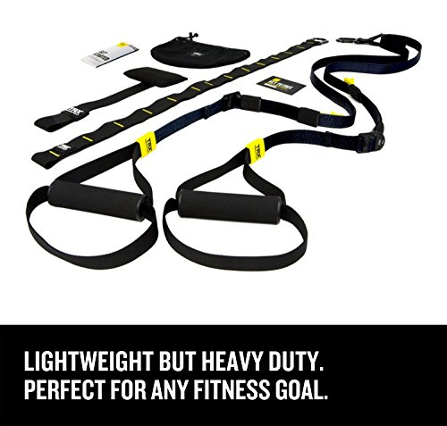 TRX Training - GO Suspension Trainer Kit, Lightest, Leanest Suspension Trainer Ever - Perfect for Travel and Working Out Indoors & Outdoors - Home Try