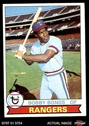 Amazoncom 1979 Topps 285 Bobby Bonds Texas Rangers
