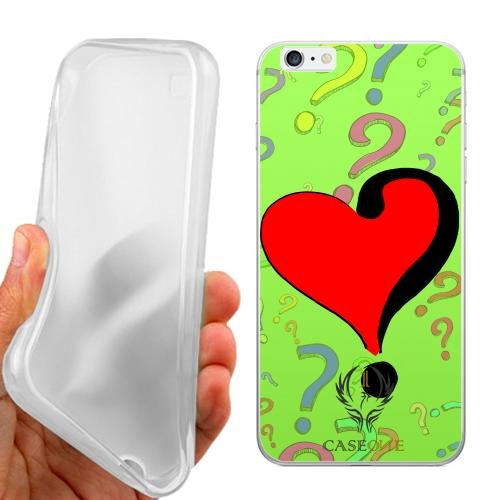 CUSTODIA COVER CASE CASEONE WHAT IS LOVE PER IPHONE 6 PLUS