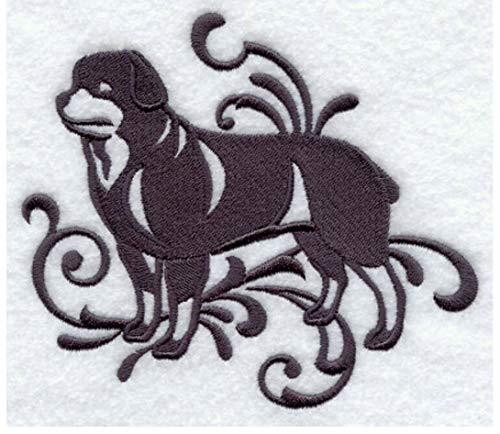 (Rottweiler Custom Embroidered Sweatshirt Shirt)