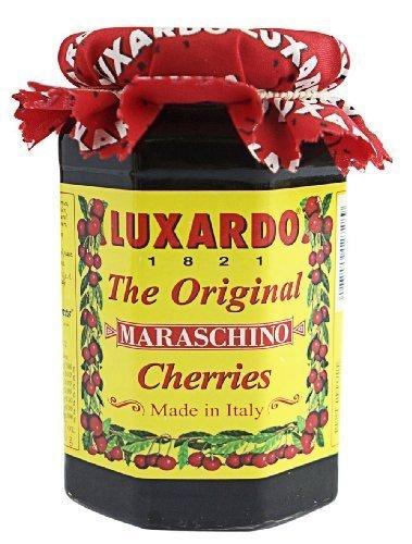 Luxardo Italian Maraschino Cherries In Syrup 400 Gram Jar (Pack of 3) by Luxardo (12 Pack)