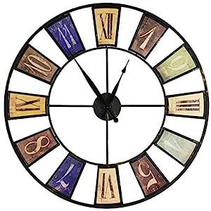 XXL Reloj de Pared 60cm Vintage Estilo Look