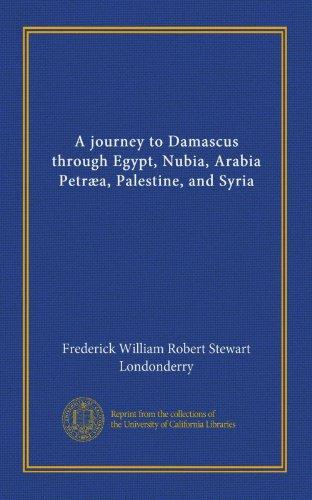 A journey to Damascus through Egypt, Nubia, Arabia Petræa, Palestine, and Syria (v.2)