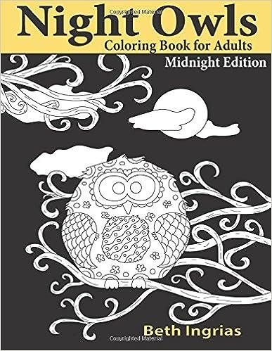 Téléchargement du livre gratuit Night Owls: An Adult Coloring Book en français PDF ePub 1945803037