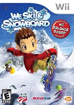 We Ski and Snowboard from Namco