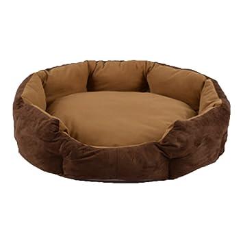 DSAQAO Cama Perro Oval Suave de Lujo, Plegable Nido Camas Perro Cama del Gato del Animal doméstico-J Pequeño: Amazon.es: Deportes y aire libre
