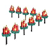 Christmas Candle Outdoor Path Lights Decoration