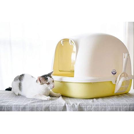 SELCNG Ultra Caja de Arena autolimpiable, con Capucha, Bandeja de Basura para Gatos,