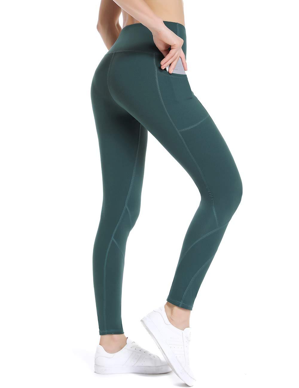 c6dffd98d8361e ALONG FIT Sport Leggings mit Taschen Damen Sporthose Yogahose Fitnesshose  Yoga Leggings für Damen product image