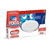 Huggies Porta Toallitas Húmedas Cuidado Hidratante, 40 Toallitas, El empaque puede variar