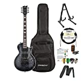 ESP LEC1001FRSTBLK-Kit01 FR STBLK Metalworks Electric Guitar
