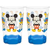 Mickey Mouse 9 oz Plastic Cups Set of 2