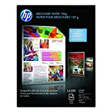 Hp Glossy Color Laser Brochure Paper 150 Sheets Heavey Weight with Two Sided Glo (Q6611A)