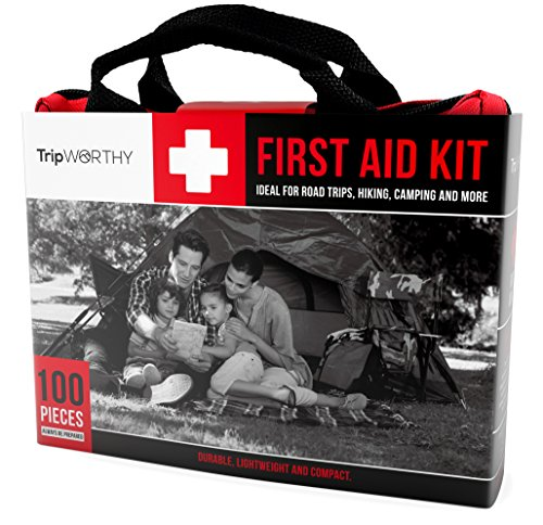 Compact First Aid Kit For Medical Emergency For Home Car Camping Hiking Sport Work Office Boat Survival And Traveling Small And Lightweight First Aid Bag
