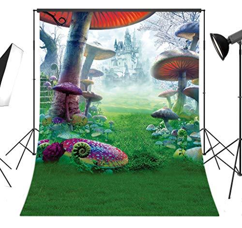 LB 5x7ft Wonderland Poly Fabric Photo Backdrops Customized Studio Background Studio Props 2569