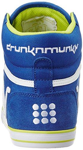 DrunknMunky Boston Classic - Zapatillas de Piel Para Hombre Gris Gris 37 Azul Size: 44