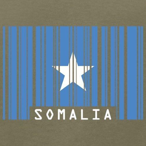 Somalia / Bundesrepublik Somalia Barcode Flagge - Herren T-Shirt - Khaki - L