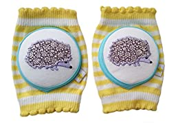 Crawlings Porcupine Kneepads One Size Lemonchello (One Size, Lemonchello)
