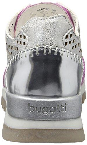 Argento Ginnastica J8209pr6n Bugatti da Silber Donna Scarpe Basse 805 xY1PqdnTPt