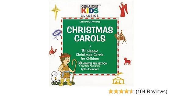 cedarmont kids christmas carols amazoncom music