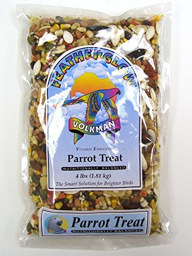 Volkman Seed Featherglow Parrot Treat 4lb by Volkman Seed Company Inc