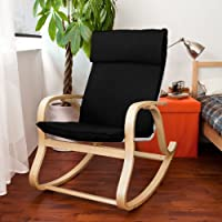 Haotian New Relax Rocking Chair Lounge Chair ,Glider, FST15-SCH,black