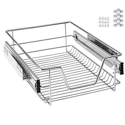 AOFENG cajón bandeja de armario cajón extraíble cajón de cocina Estantería Dormitorio Cocina cesta para cajones