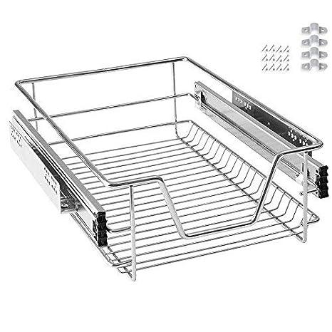 AOFENG cajón bandeja de armario cajón extraíble cajón de cocina Estantería Dormitorio Cocina cesta para cajones, 30 cm: Amazon.es: Hogar