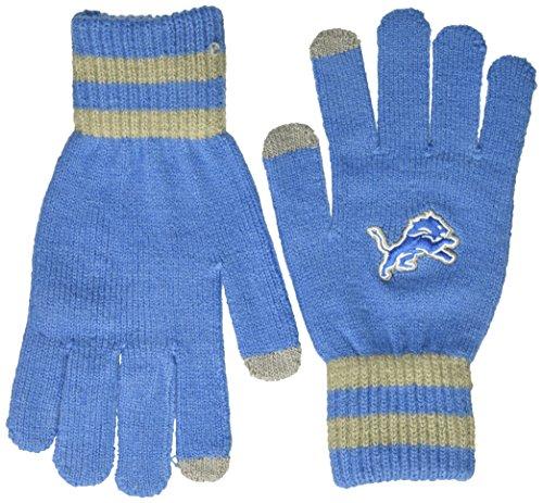 NFL Detroit Lions Men's Sportsman Touch OTS Glove, Blue Raz, Men's ()